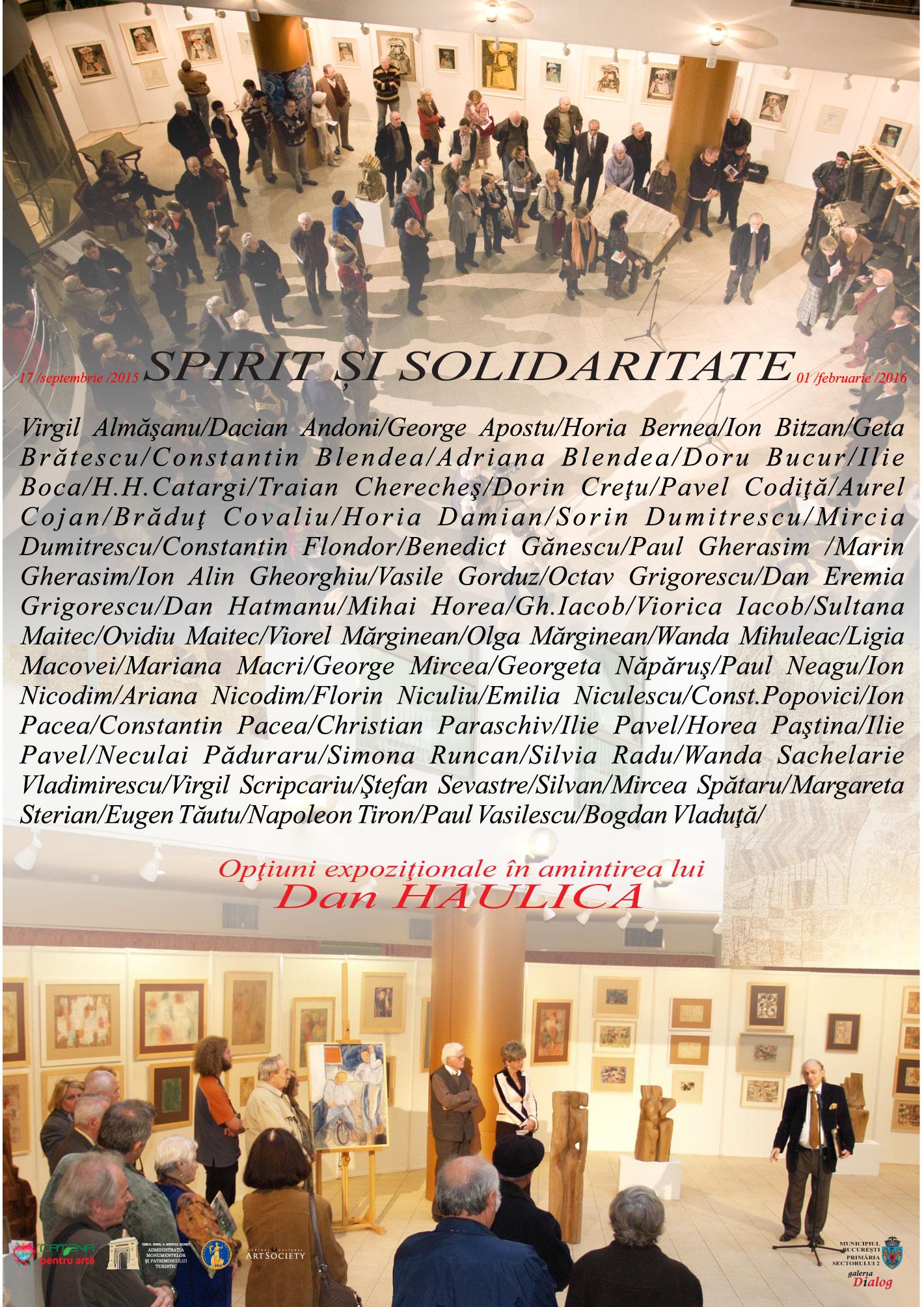 Spirit și Solidaritate Galeria Dialog, București