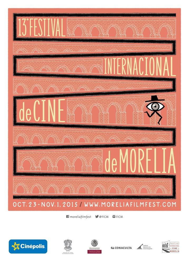 13t Morelia Film_designed by Rodrigo Toledo_inspiration designer Saul Bass