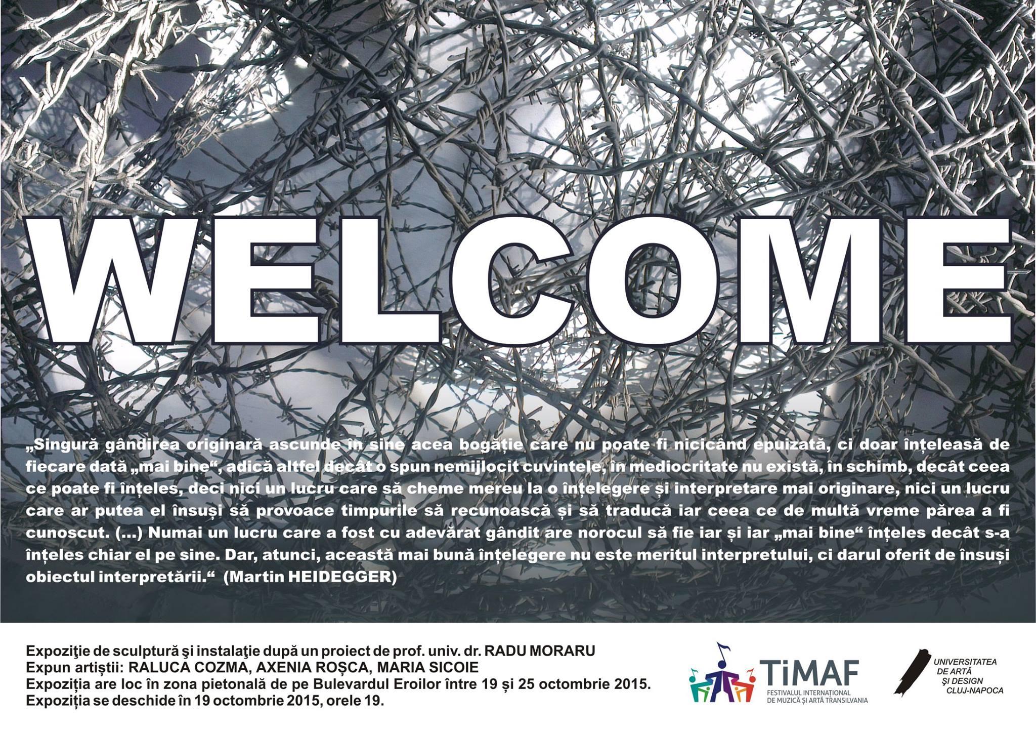 Expoziţie de sculptură şi instalaţie WELCOME (2)