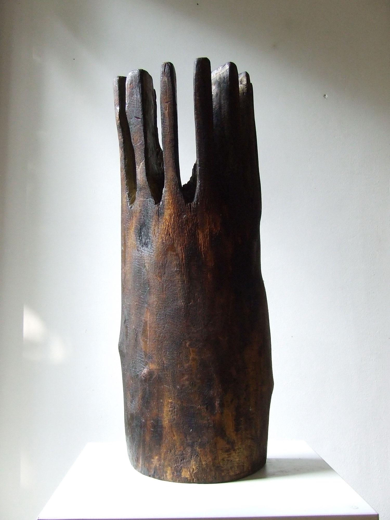 George Apostu, Solar,  63 x 30 x 13 cm, lemn
