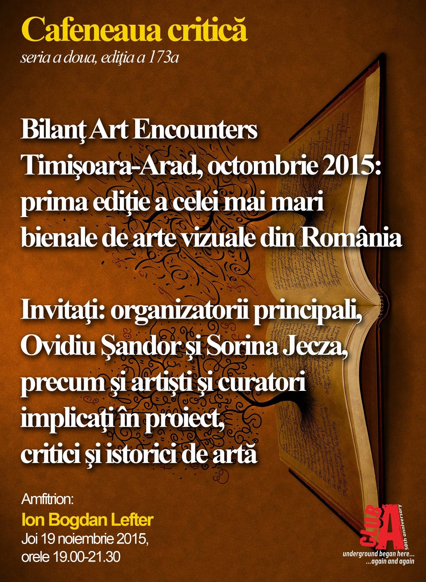 Resize of Cafeneaua critica 173 Art Encounters Timisoara-Arad AFIS