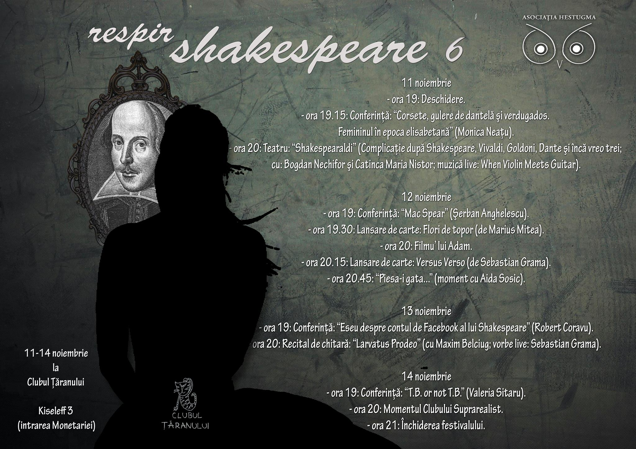 Respir Shakespeare editia VI_Afis