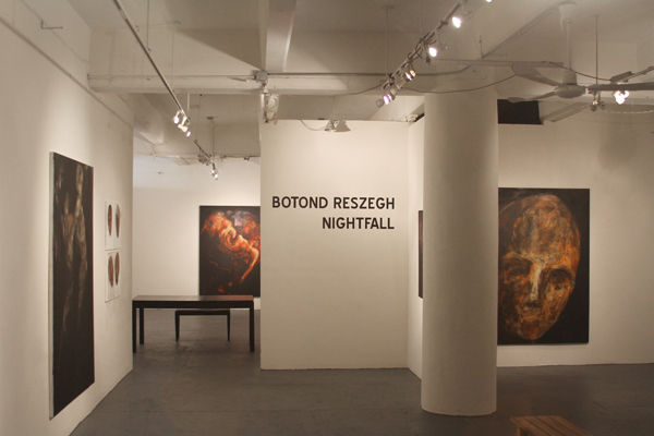 "Reszegh Botond, ""Nightfall"" @ Gallery MC, New York (1)"