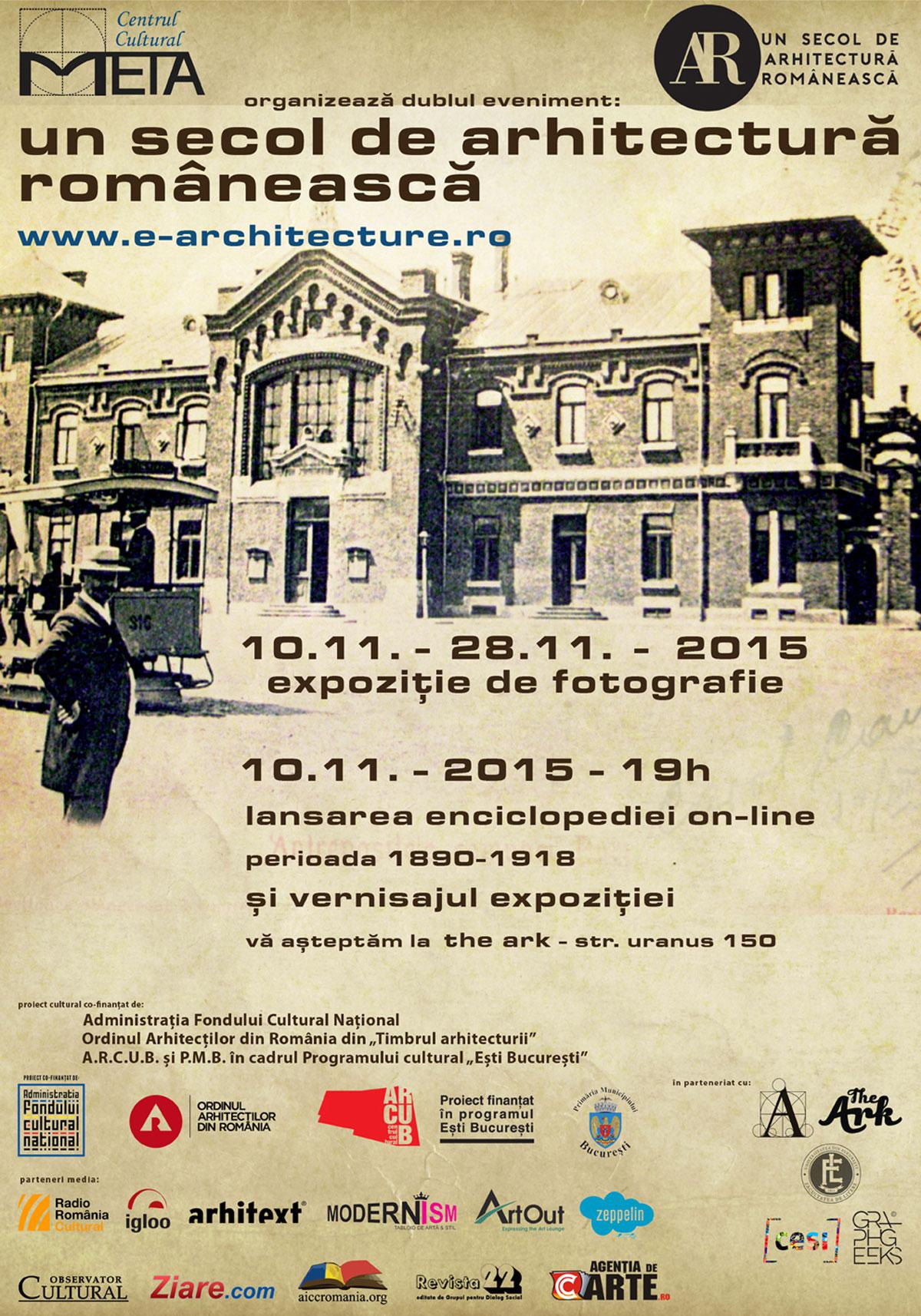 Un secol de arhitectură românească
