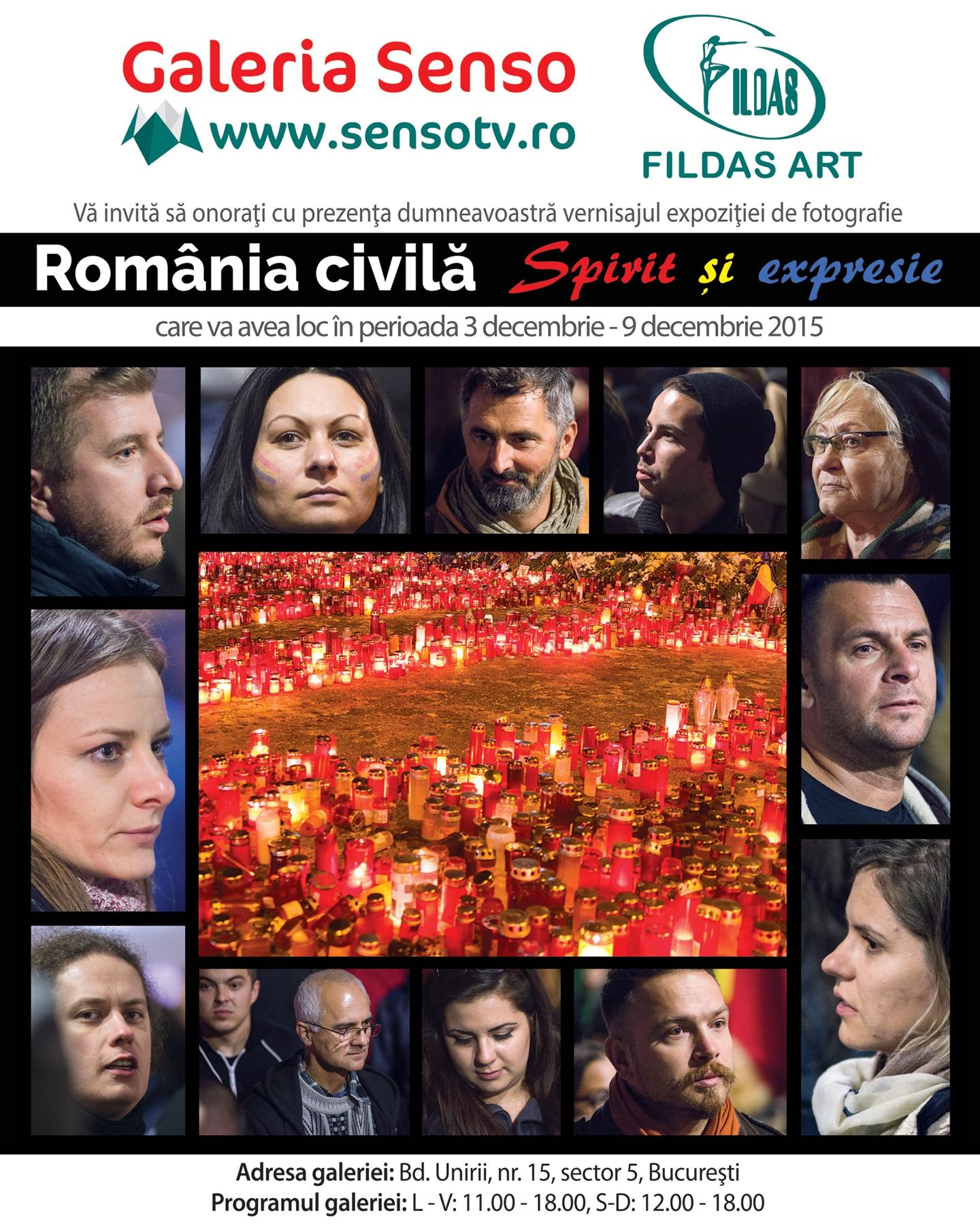 Afis_ROMANIA CIVILA Expozitie de fotografie