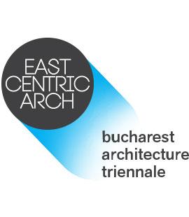 logo-ul Trienalei de Arhitectura East Centric