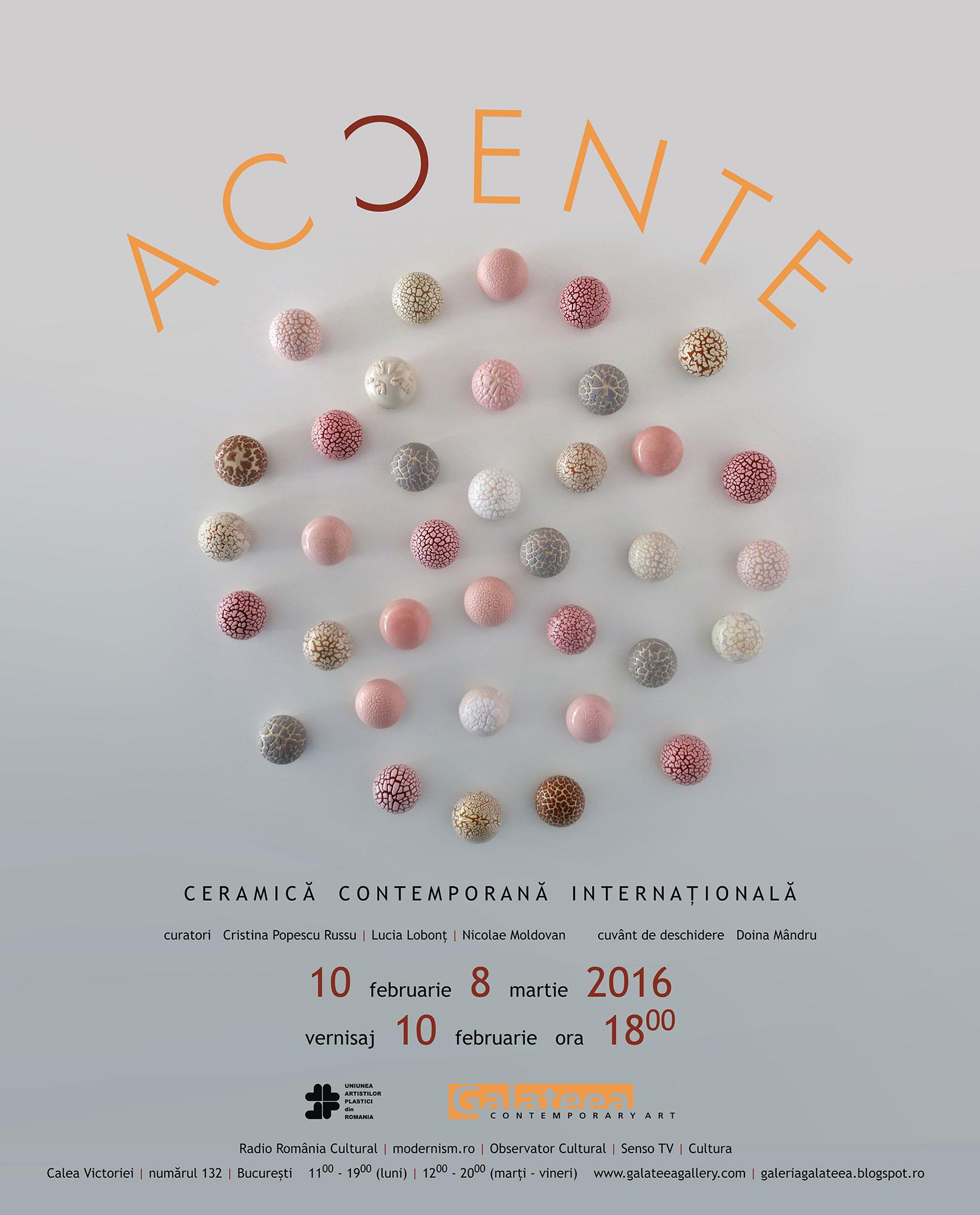 ACCENTE @ Galeria Galateea