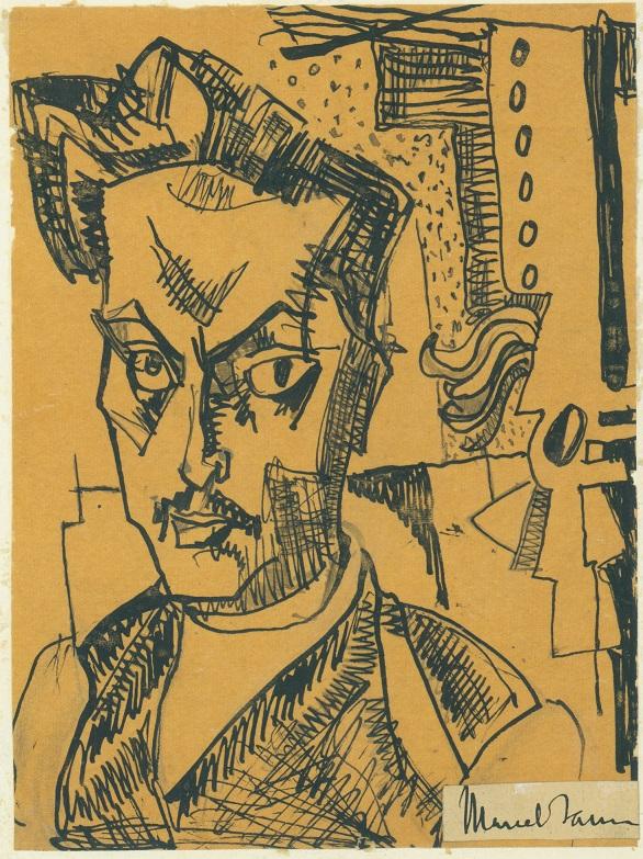 Marcel Iancu - Autorretrato