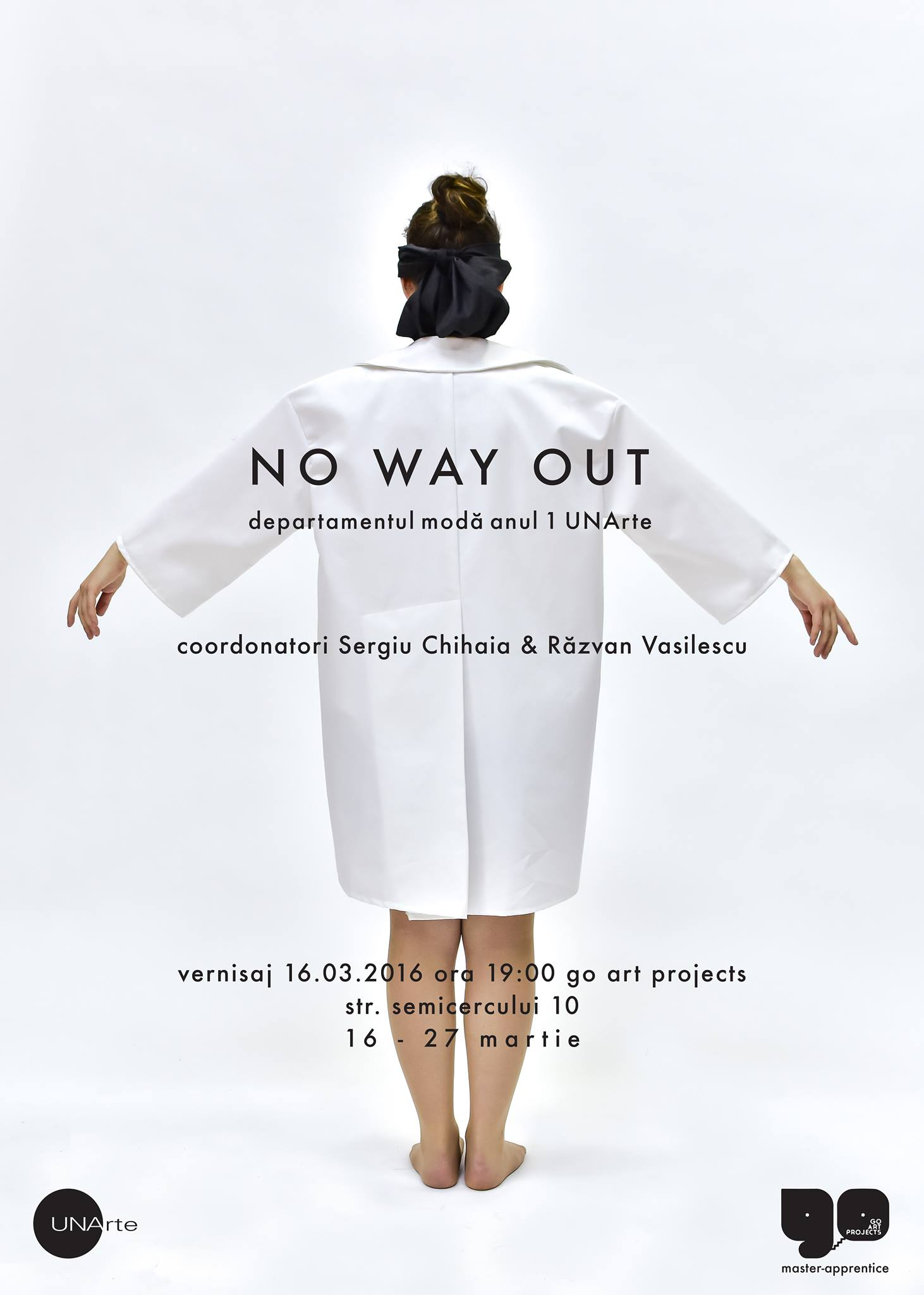GO13 NO WAY OUT @ Go Art Projects 16.03.2016 7 pm