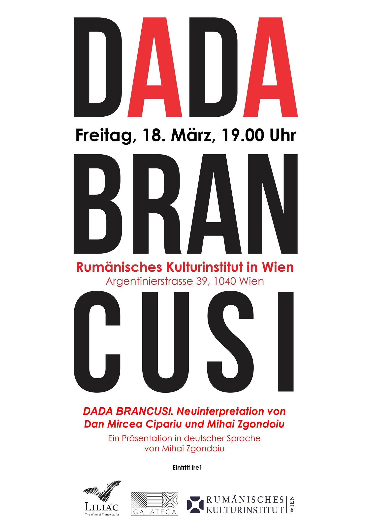 Plakat-DADA-BRANCUSI