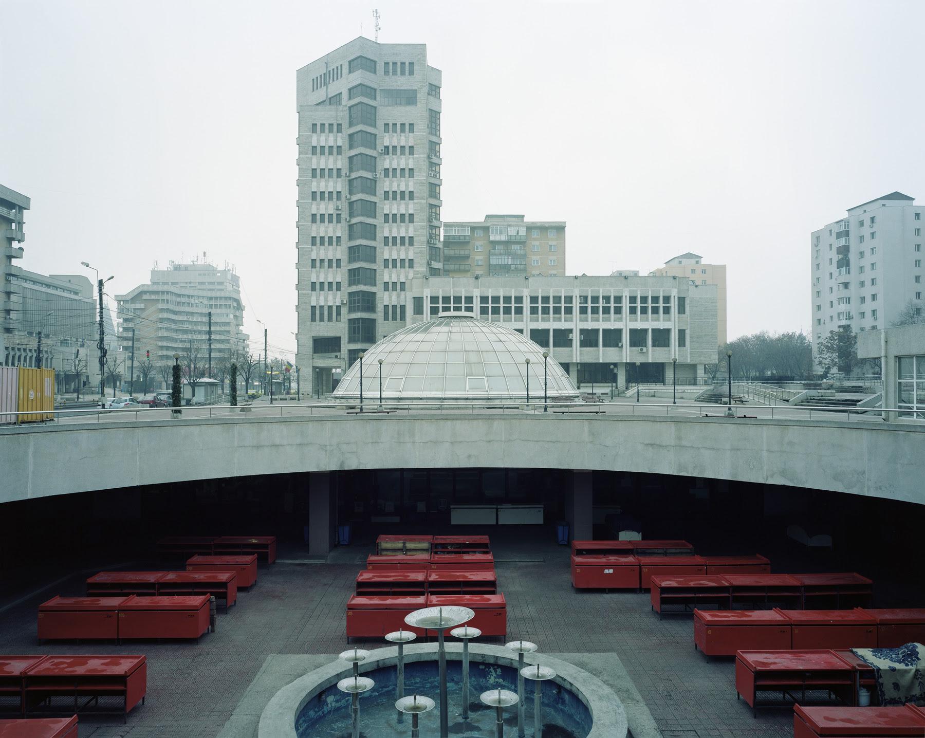 Credit imagine Michele Bressan, Piața Halei Centrale, Iași, 2011