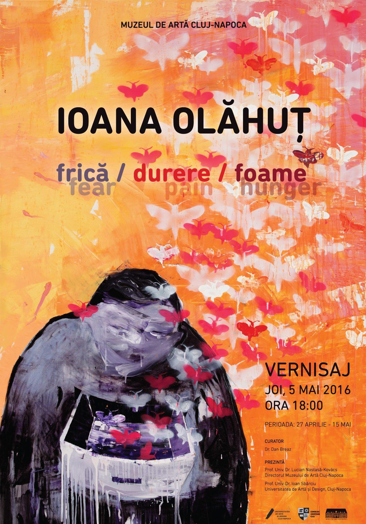"""Ioana Olăhuţ """"Frică, durere, foame"""" @ Muzeul de Artă Cluj-Napoca"""