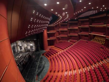 Sala Mare.interior. Foto Mihai Bodea