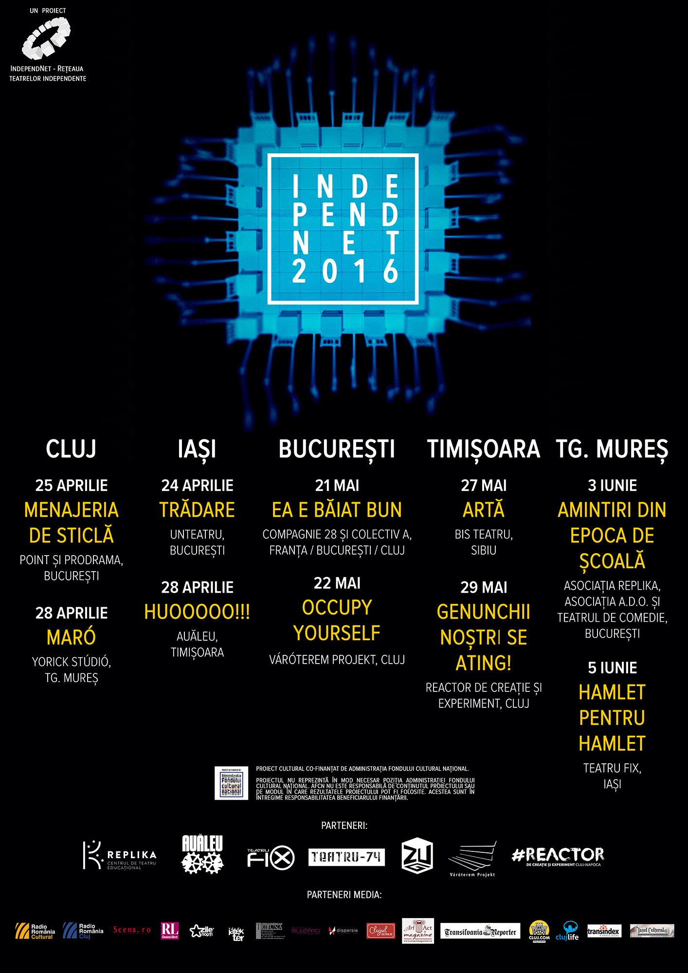 Turneu IndependNet 2016 - afis