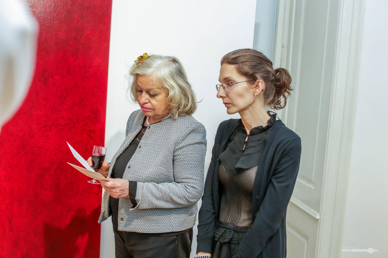 """Dana Constantin, Marcel Bunea """"Verführung der Abstraktion"""" @ FIVE PLUS Art Gallery, Vienna (1)"""