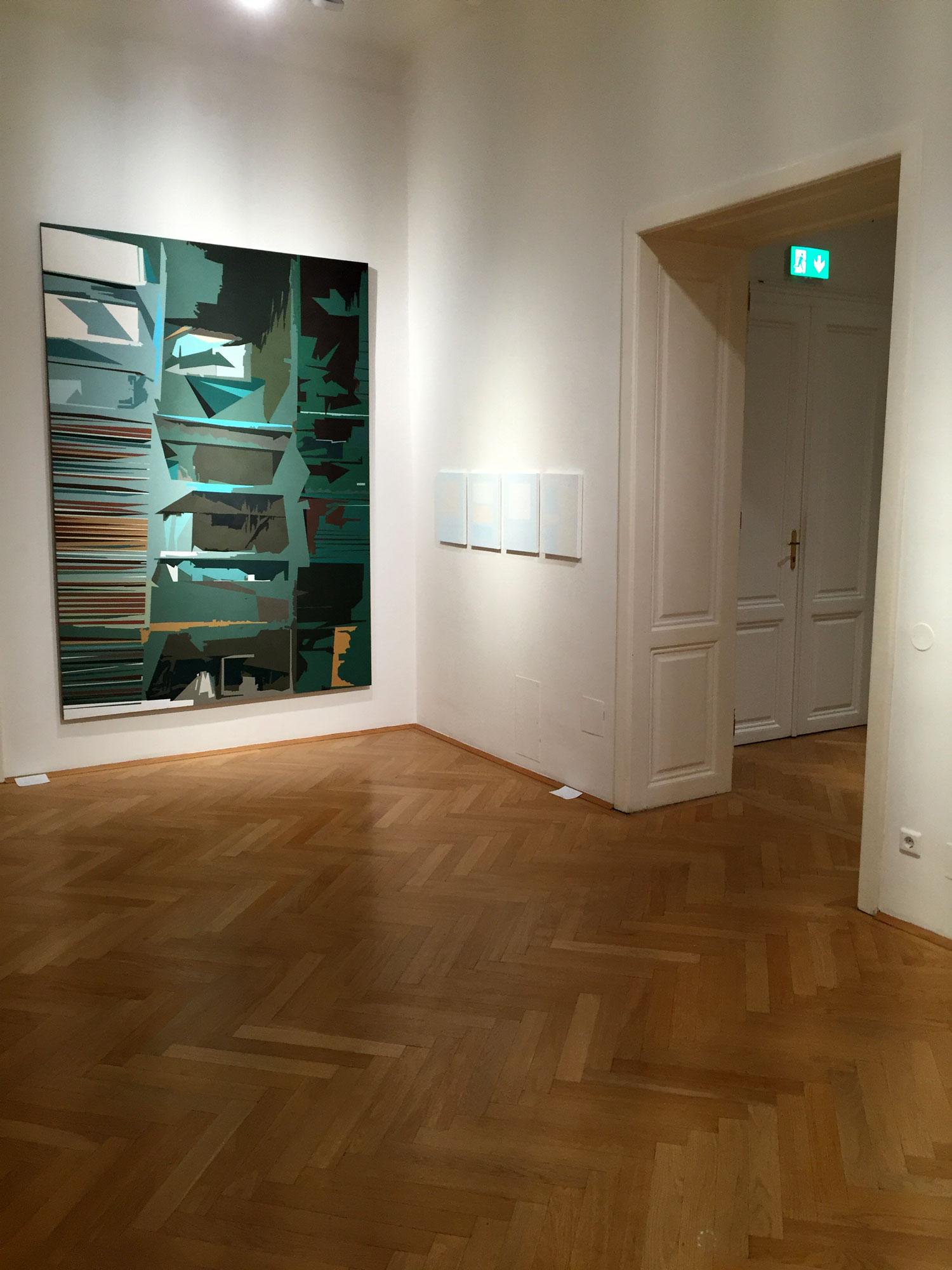 """Dana Constantin, Marcel Bunea """"Verführung der Abstraktion"""" @ FIVE PLUS Art Gallery, Vienna (12)"""