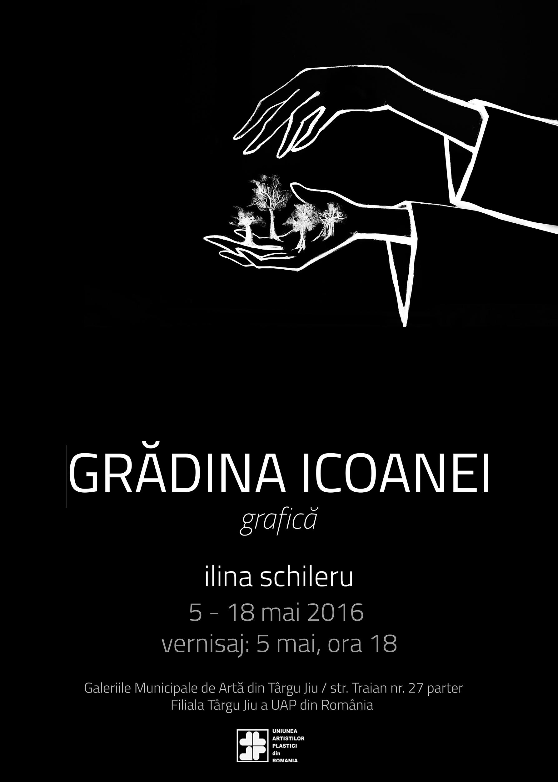 Expoziție de grafică Ilina Schileru @ Galeriile UAP Târgu-Jiu