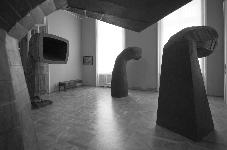 """Mircea Roman """"Trama rama Drama"""" @ Muzeul de Artă Craiova (1)"""