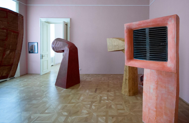 """Mircea Roman """"Trama rama Drama"""" @ Muzeul de Artă Craiova (2)"""