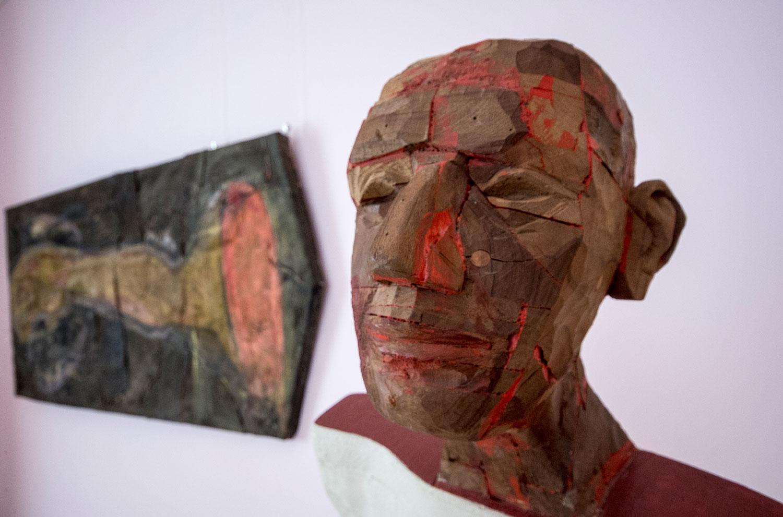 """Mircea Roman """"Trama rama Drama"""" @ Muzeul de Artă Craiova (4)"""