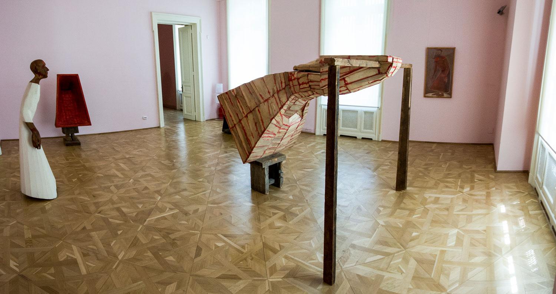 """Mircea Roman """"Trama rama Drama"""" @ Muzeul de Artă Craiova (5)"""