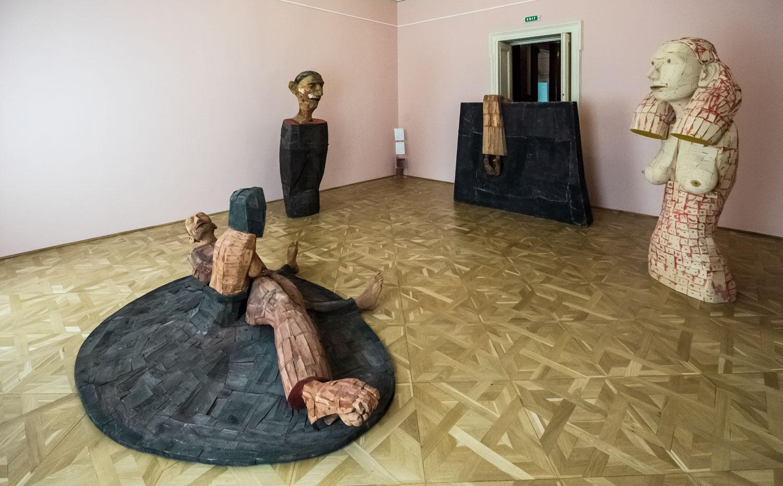 """Mircea Roman """"Trama rama Drama"""" @ Muzeul de Artă Craiova (7)"""