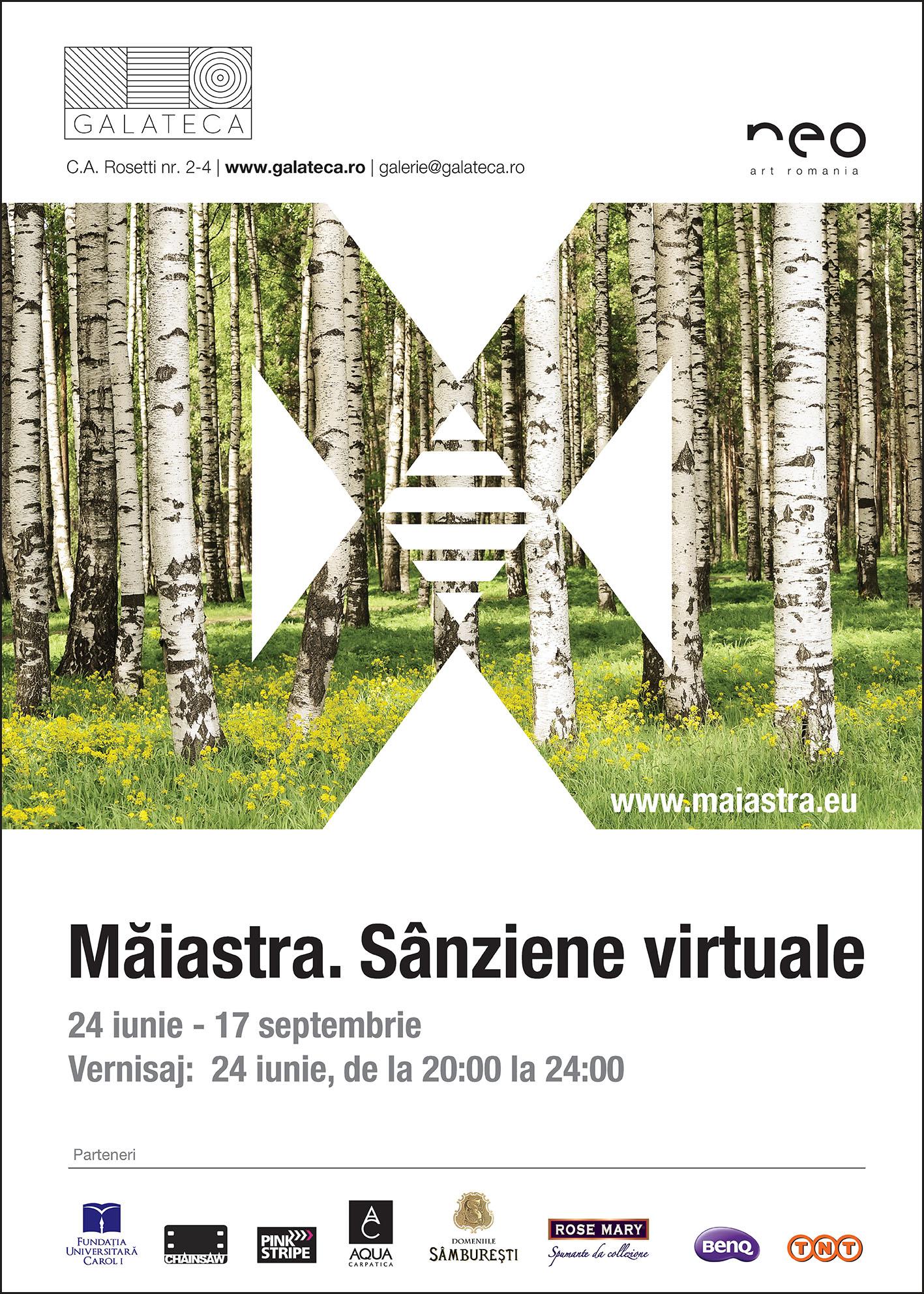 MĂIASTRA. Sânziene virtuale Galeria de artă contemporană şi design GALATECA
