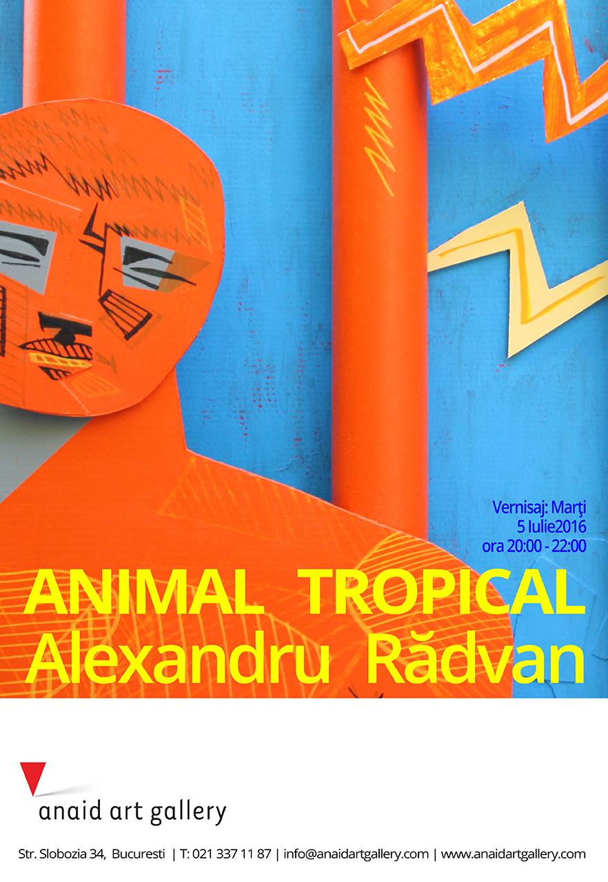 "Alexandru Rădvan ""Animal Tropical"" @ ANAID ART GALLERY, București"