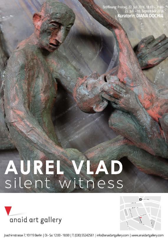 Aurel Vlad, Silent Witness @ Anaid Art Gallery, Berlin