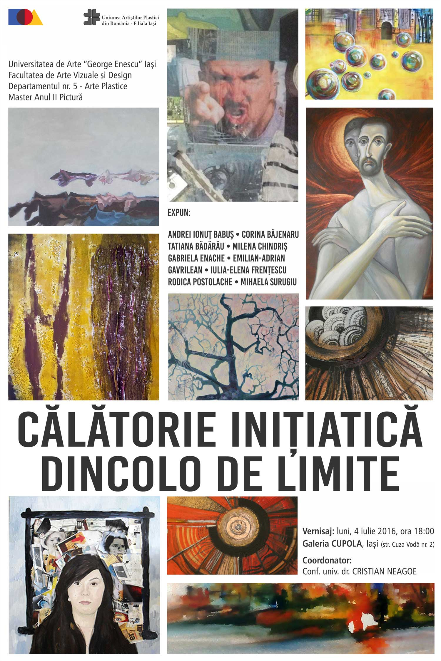 """Expoziţie-de-pictură-""""Călătorie-inițiatică-dincolo-de-limite""""-@-Galeria-de-artă-""""Cupola""""-din-Iași"""