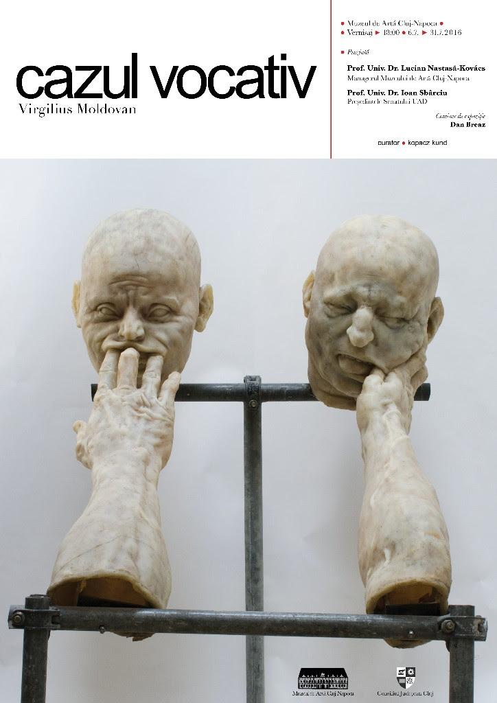 """Virgilius Moldovan, expoziţia """"Cazul vocativ"""" @ Muzeul de Artă Cluj-Napoca"""