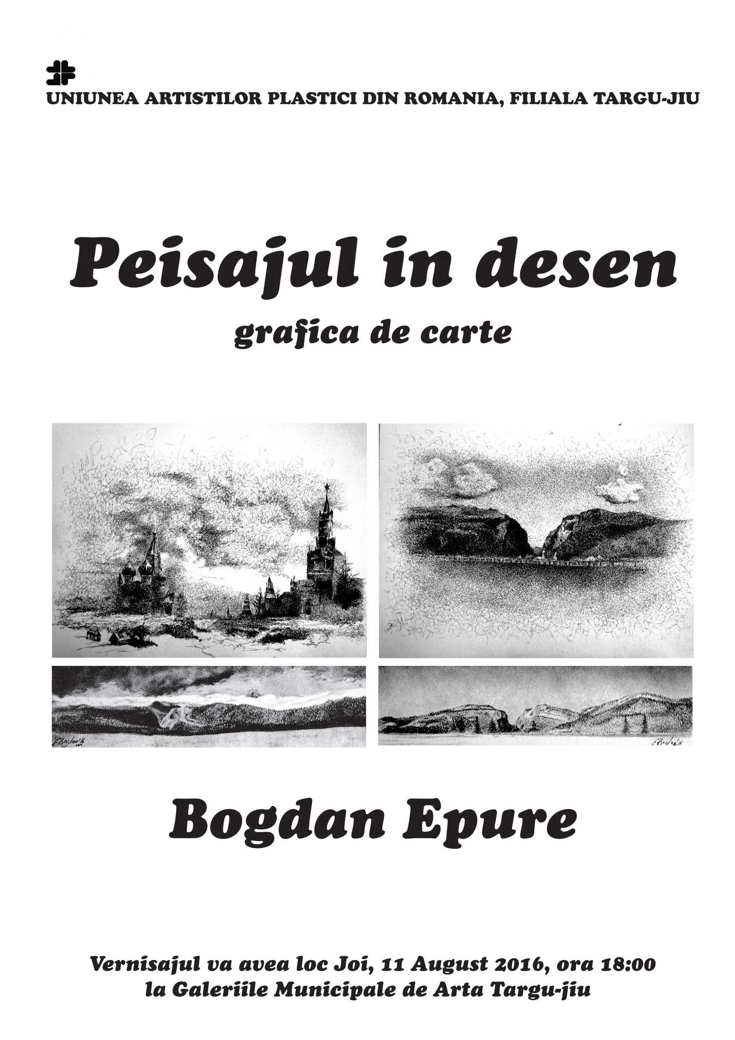 """Bogdan-Epure-""""Peisajul-în-desen"""""""