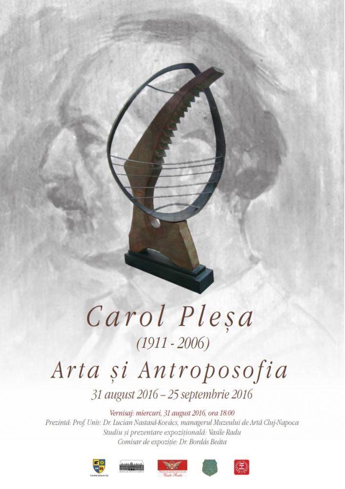 """""""Arta și Antroposofia"""" Expoziție retrospectivă a artistului Carol Pleșa (1911–2006) @ Muzeul de Artă Cluj-Napoca  (1)"""