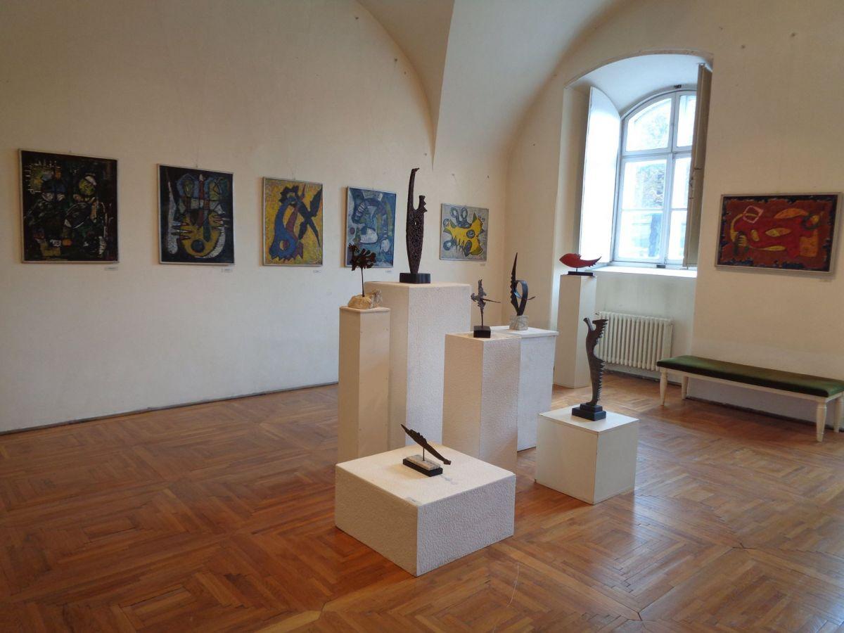 """""""Arta și Antroposofia"""" Expoziție retrospectivă a artistului Carol Pleșa (1911–2006) @ Muzeul de Artă Cluj-Napoca  (6)"""