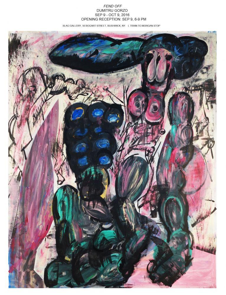 Dumitru Gorzo 2016 Slag Gallery NY