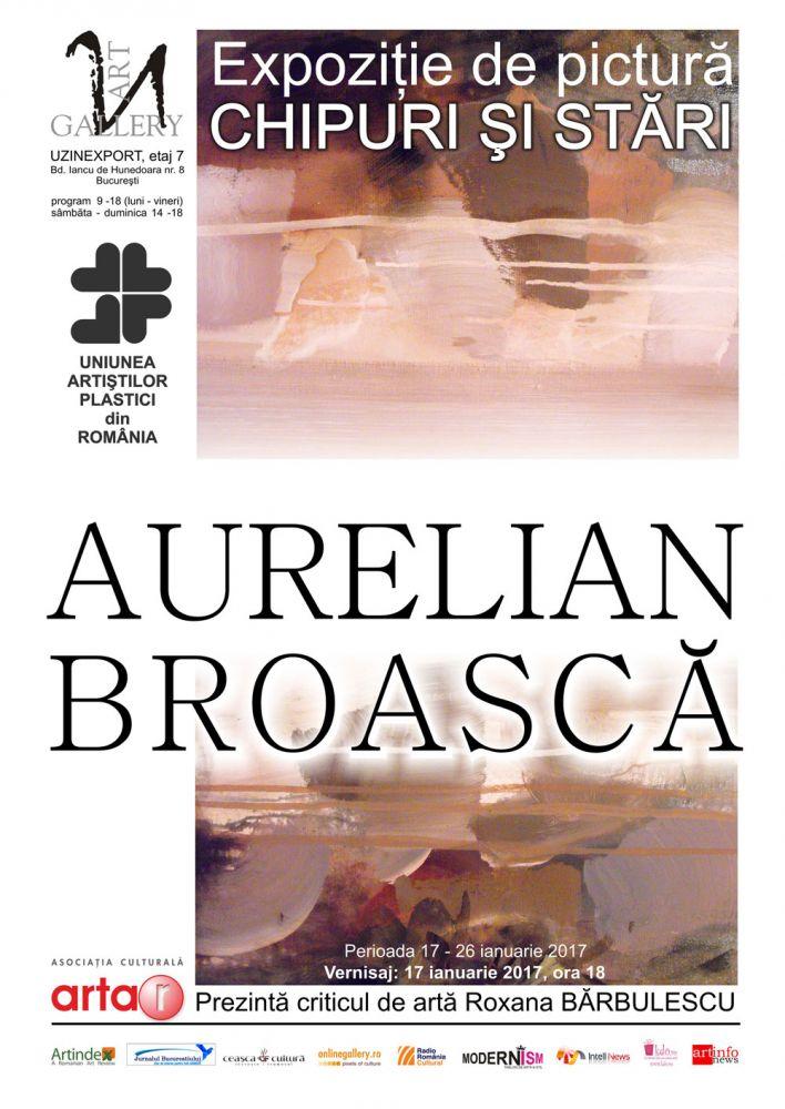 """Aurelian Broască, """"U"""" Art Gallery, București"""