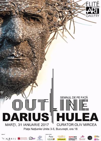 """Darius Hulea """"Out LineSemnul de pe față"""" @ Elite Art Gallery, București"""