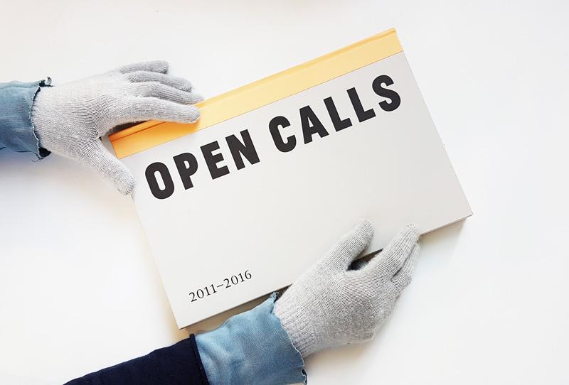 Lansare de carte OPEN CALLS 2011–2016 @ Salonul de proiecte, București