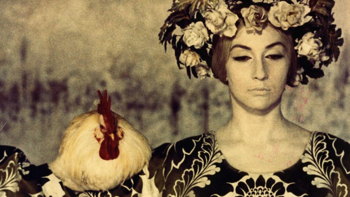 Still from The Color of Pomegranates (1969) by Sergei Parajanov
